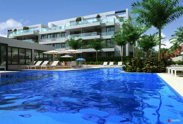Piscina Adulto - Apartamento à venda Rua Omar Bandeira Ramidan Sobrinho,Recreio dos Bandeirantes, Rio de Janeiro - R$ 763.660 - LMAP30074 - 13