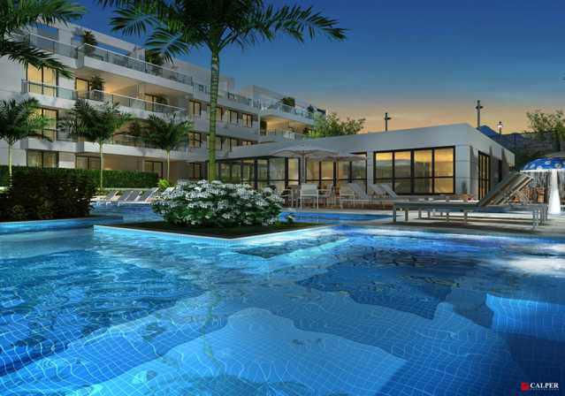 Piscina - Apartamento à venda Rua Omar Bandeira Ramidan Sobrinho,Recreio dos Bandeirantes, Rio de Janeiro - R$ 763.660 - LMAP30074 - 14