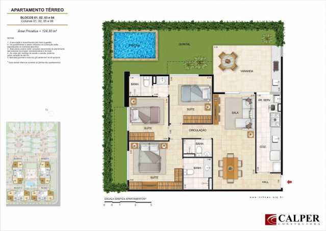 Planta_Apartamento - Apartamento à venda Rua Omar Bandeira Ramidan Sobrinho,Recreio dos Bandeirantes, Rio de Janeiro - R$ 763.660 - LMAP30074 - 15