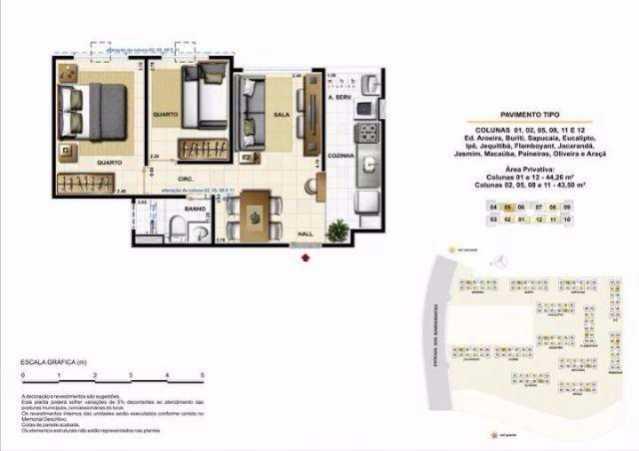 473531025533309 - Apartamento à venda Estrada dos Bandeirantes,Jacarepaguá, Rio de Janeiro - R$ 200.000 - TAAP20546 - 6