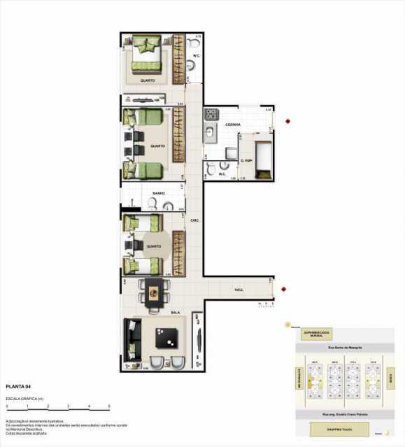 89_G1429280613 - Cópia - Apartamento Rua Engenheiro Enaldo Cravo Peixoto,Tijuca,Rio de Janeiro,RJ À Venda,3 Quartos,82m² - LMAP30082 - 6