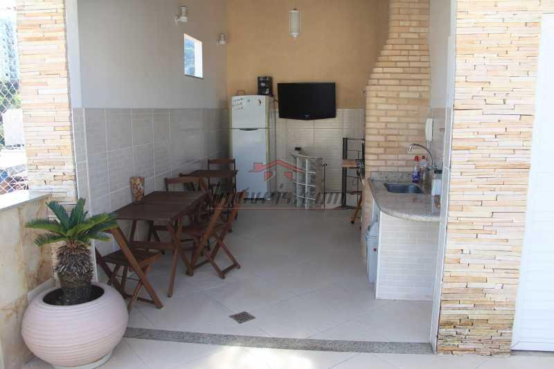 VISTA AREA COBERTA 2 - Cobertura à venda Rua Barão de Cotegipe,Vila Isabel, Rio de Janeiro - R$ 750.000 - PSCO30048 - 25