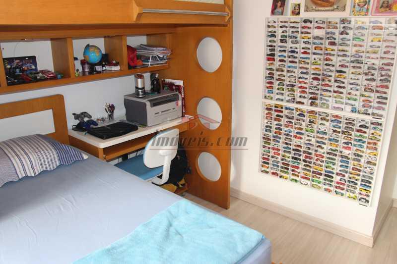 QUARTO 2 VISTA INVERTIDA - Cobertura à venda Rua Barão de Cotegipe,Vila Isabel, Rio de Janeiro - R$ 750.000 - PSCO30048 - 14