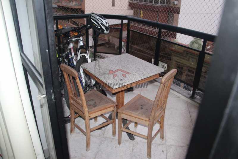 VARANDA - Cobertura à venda Rua Barão de Cotegipe,Vila Isabel, Rio de Janeiro - R$ 750.000 - PSCO30048 - 5