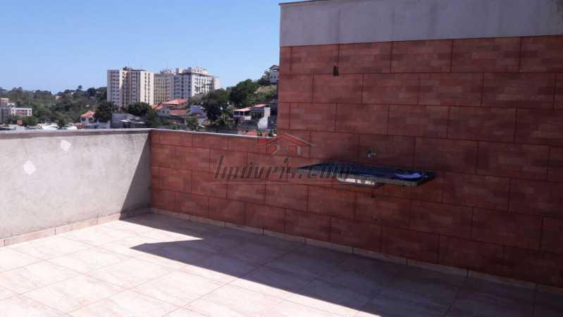 26 - Casa à venda Rua Comendador Siqueira,Pechincha, Rio de Janeiro - R$ 449.000 - PECA30252 - 21