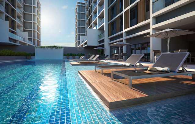 deck_ilha - Apartamento à venda Rua Alexandre Ramos,Tanque, Rio de Janeiro - R$ 328.654 - PEAP20906 - 1