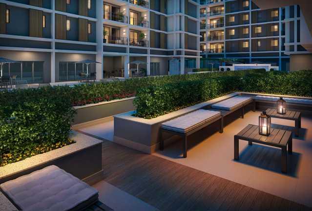 lounge_externo - Apartamento à venda Rua Alexandre Ramos,Tanque, Rio de Janeiro - R$ 328.654 - PEAP20906 - 13