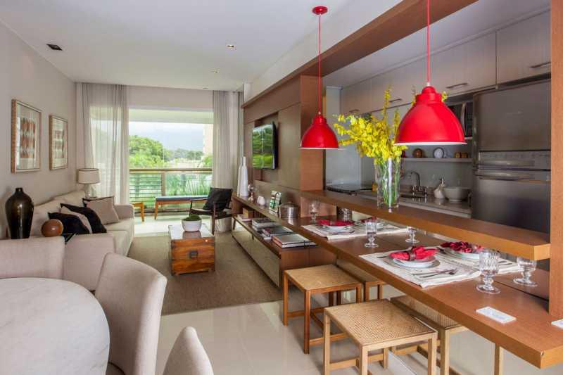 15 - Apartamento à venda Rua Nilton Santos,Recreio dos Bandeirantes, Rio de Janeiro - R$ 487.400 - PSAP21182 - 16