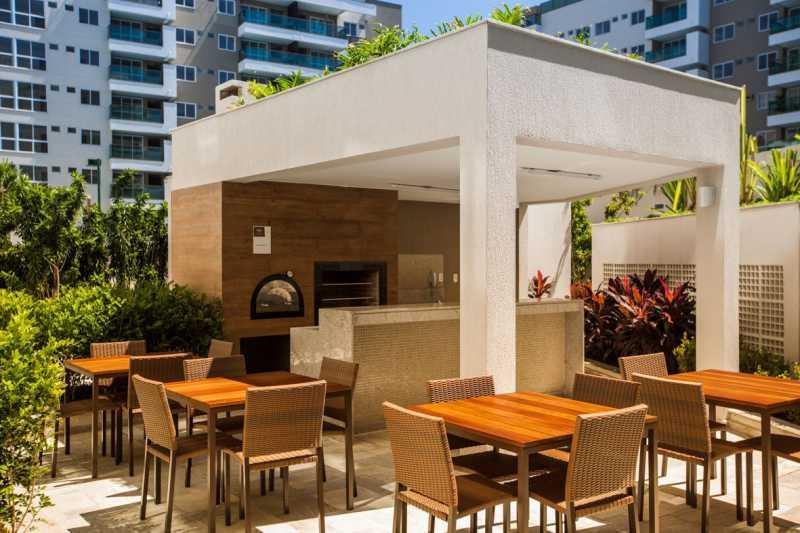 10 - Apartamento à venda Rua Nilton Santos,Recreio dos Bandeirantes, Rio de Janeiro - R$ 472.800 - PSAP21185 - 11