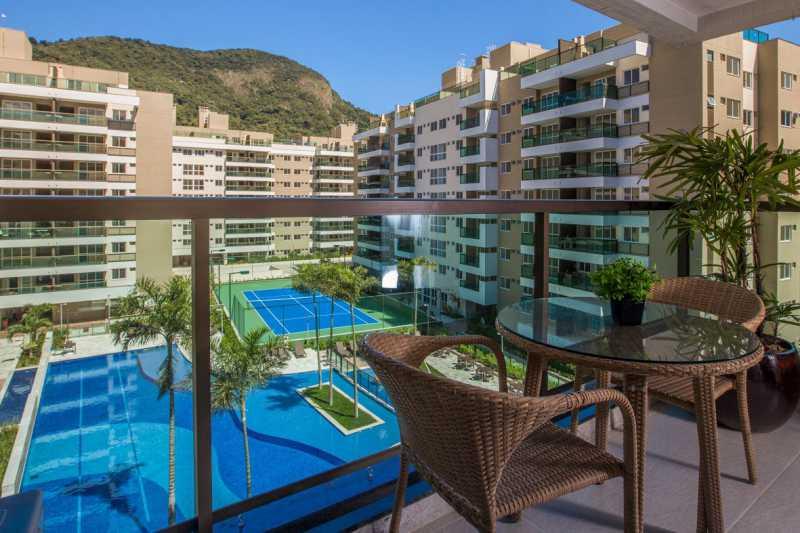16 - Apartamento à venda Rua Nilton Santos,Recreio dos Bandeirantes, Rio de Janeiro - R$ 472.800 - PSAP21185 - 17