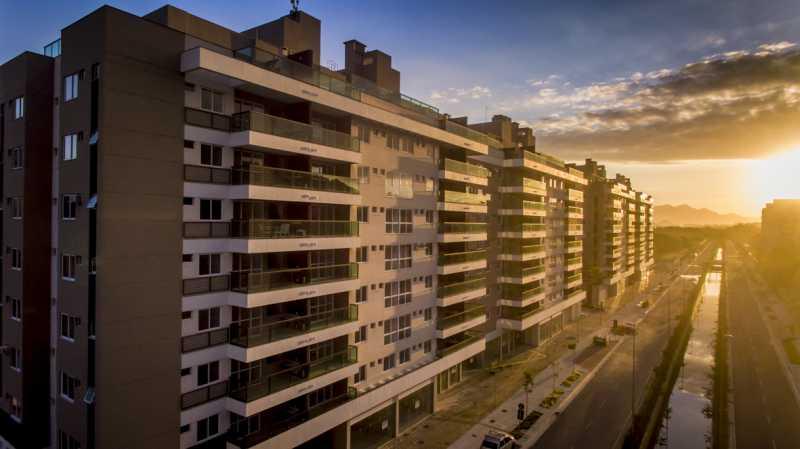 1 - Apartamento à venda Rua Nilton Santos,Recreio dos Bandeirantes, Rio de Janeiro - R$ 580.000 - PSAP30439 - 1
