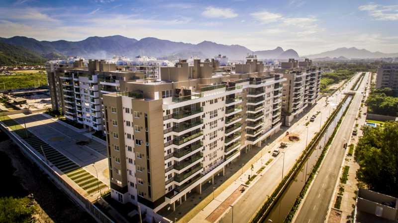2 - Apartamento à venda Rua Nilton Santos,Recreio dos Bandeirantes, Rio de Janeiro - R$ 580.000 - PSAP30439 - 3