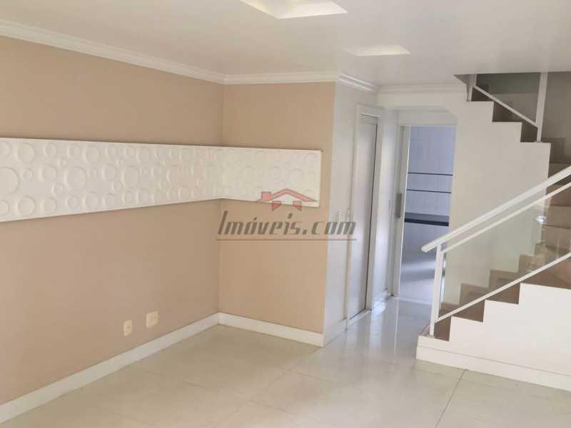 01 - Casa em Condomínio à venda Estrada dos Bandeirantes,Jacarepaguá, Rio de Janeiro - R$ 455.000 - PECN30127 - 3