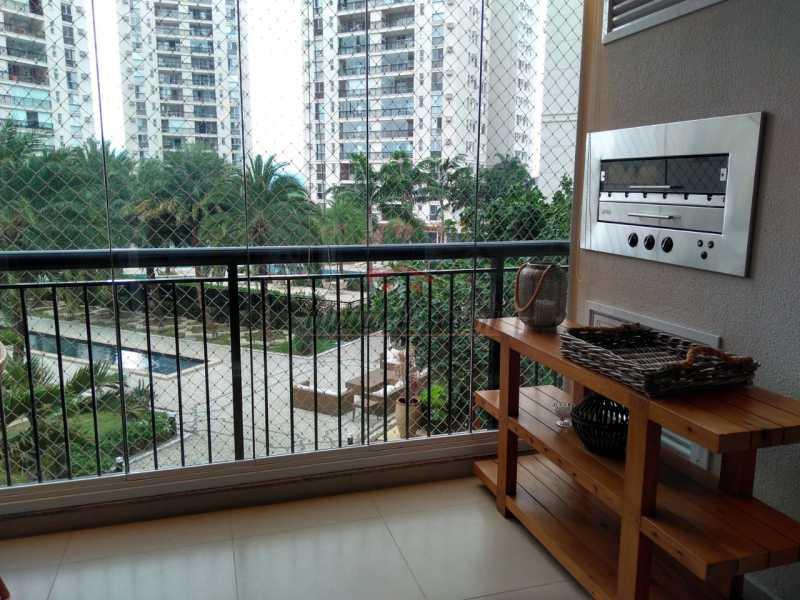 11 - Apartamento à venda Avenida Vice-Presidente José Alencar,Barra da Tijuca, Rio de Janeiro - R$ 1.480.000 - PEAP30472 - 12