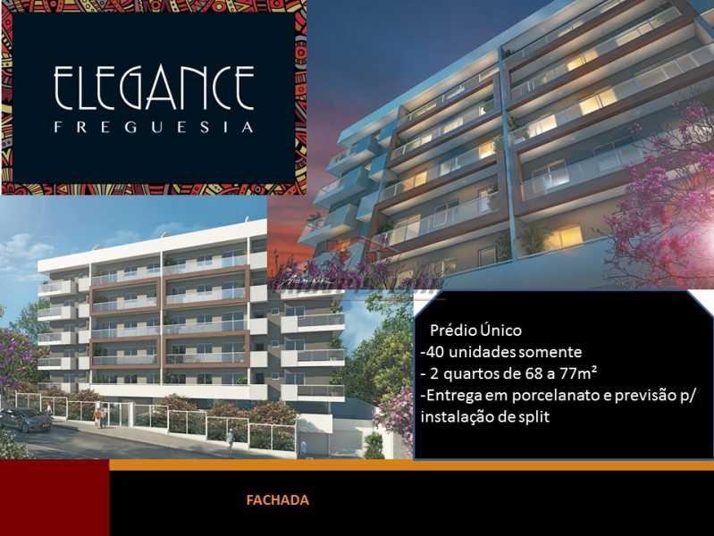 1 - Cobertura 2 quartos à venda Jacarepaguá, Rio de Janeiro - R$ 645.742 - PECO20038 - 1