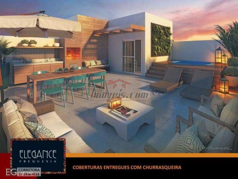3 - Cobertura 2 quartos à venda Jacarepaguá, Rio de Janeiro - R$ 645.742 - PECO20038 - 4