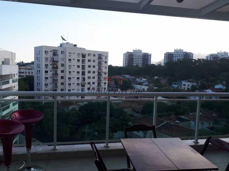1. - Cobertura 3 quartos à venda Pechincha, Rio de Janeiro - R$ 520.000 - PECO30085 - 1