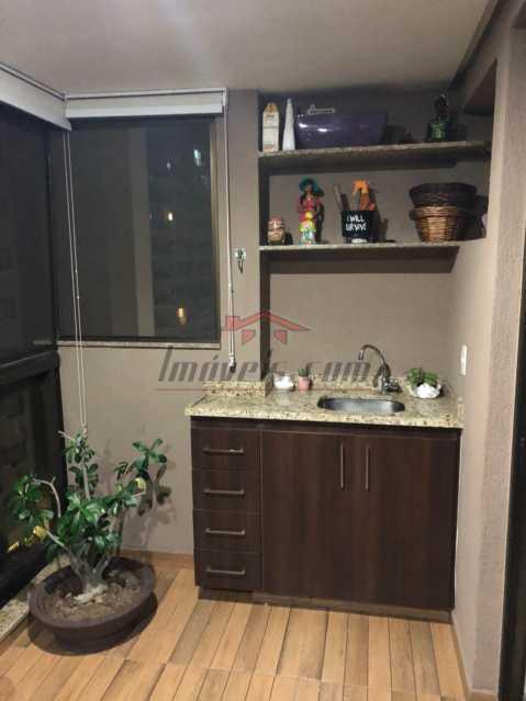 2 - Apartamento 3 quartos à venda Jacarepaguá, Rio de Janeiro - R$ 640.000 - PEAP30507 - 3