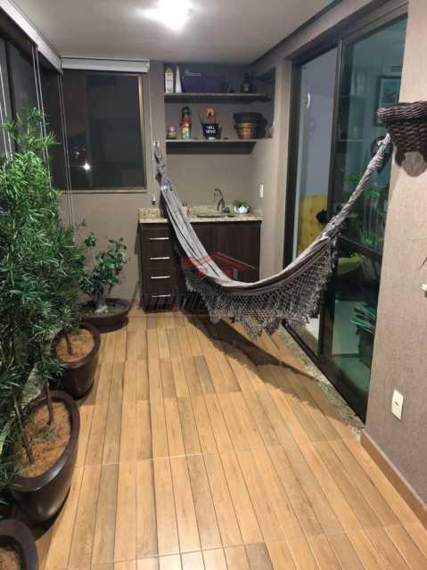 3 - Apartamento 3 quartos à venda Jacarepaguá, Rio de Janeiro - R$ 640.000 - PEAP30507 - 4