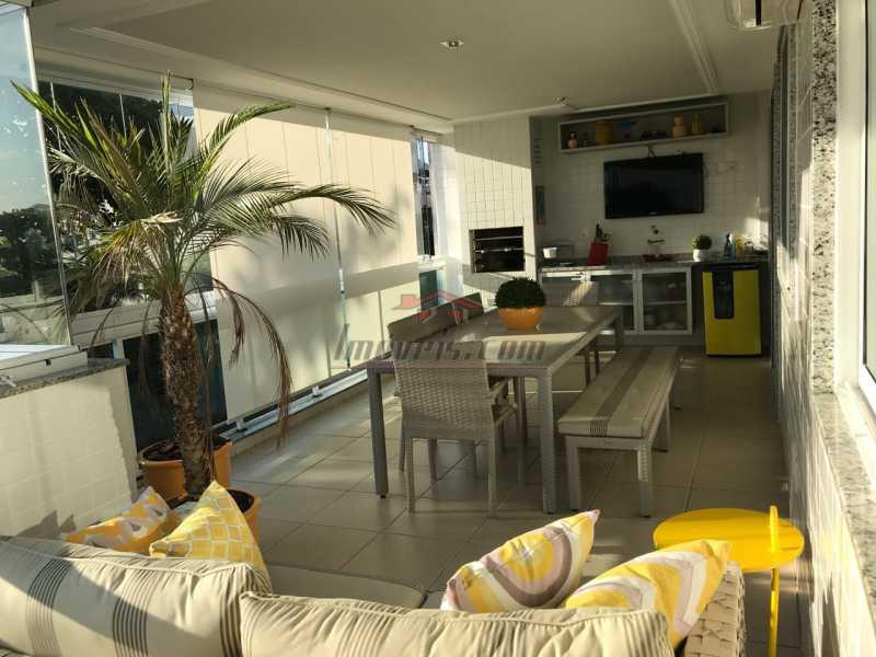 1 - Apartamento 3 quartos à venda Recreio dos Bandeirantes, Rio de Janeiro - R$ 940.000 - PEAP30513 - 3