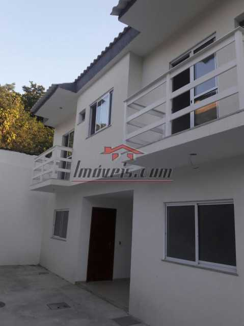 1 - Casa em Condomínio à venda Rua Ana Silva,Pechincha, Rio de Janeiro - R$ 470.000 - PECN30148 - 1