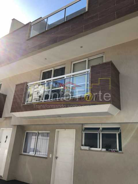 1 - Casa em Condomínio Pechincha, Rio de Janeiro, RJ À Venda, 3 Quartos, 113m² - PECN30162 - 1