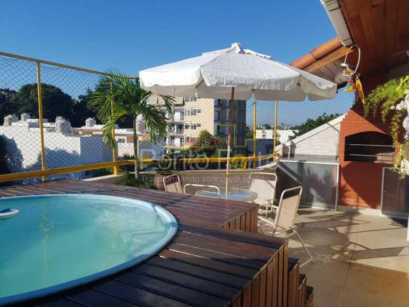 4 - Cobertura 2 quartos à venda Pechincha, Rio de Janeiro - R$ 485.000 - PECO20044 - 5