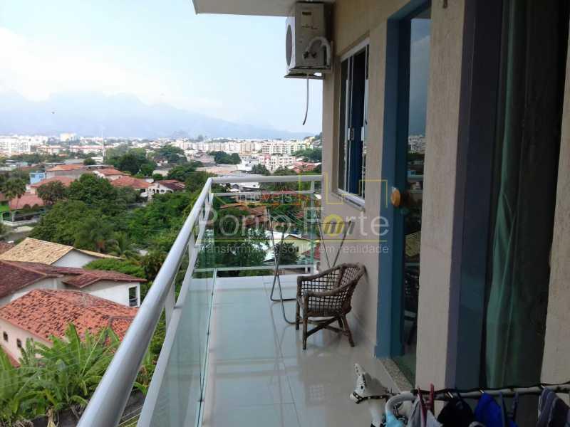 1 - Casa em Condomínio 3 quartos à venda Taquara, Rio de Janeiro - R$ 629.000 - PECN30163 - 1