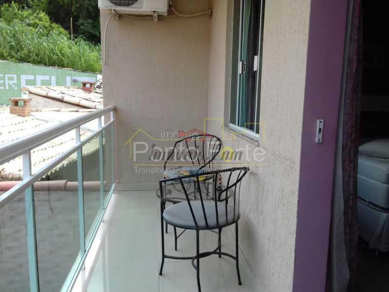 2 - Casa em Condomínio 3 quartos à venda Taquara, Rio de Janeiro - R$ 629.000 - PECN30163 - 3