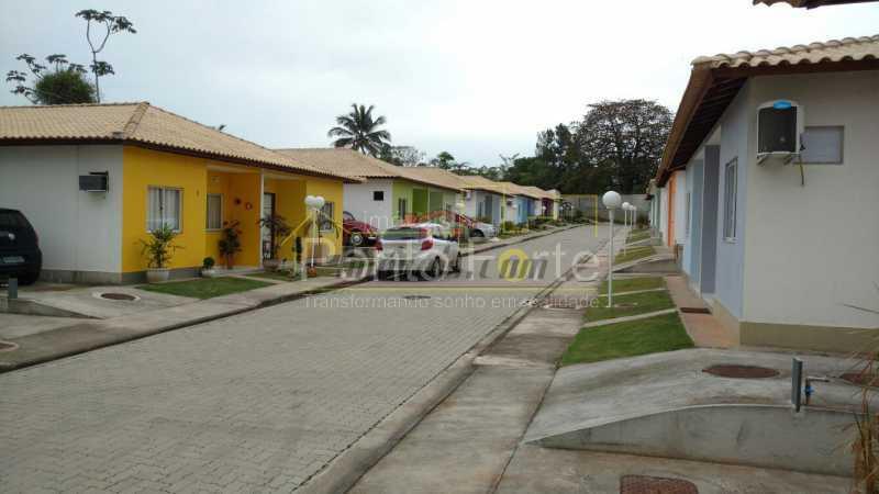 1 - Casa em Condomínio 2 quartos à venda Santa Cruz, Rio de Janeiro - R$ 169.000 - PECN20151 - 1