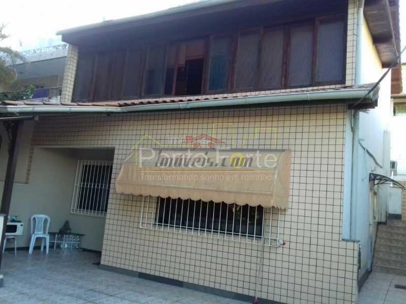 1 - Casa 3 quartos à venda Taquara, Rio de Janeiro - R$ 850.000 - PECA30300 - 1