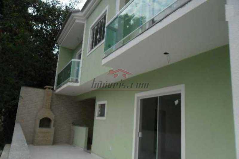 1 - Casa em Condomínio 3 quartos à venda Vila Valqueire, Rio de Janeiro - R$ 399.000 - PECN30192 - 1