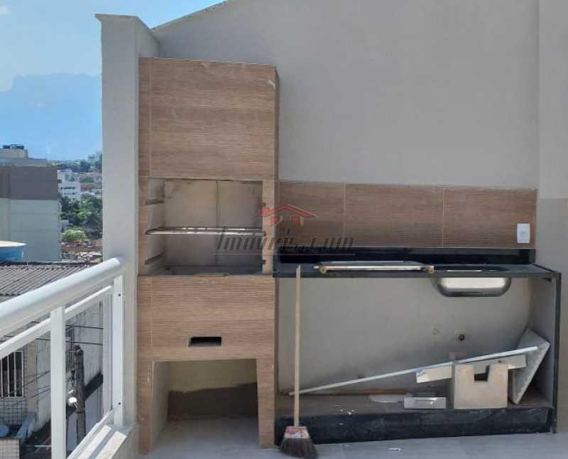 18. - Casa em Condomínio 3 quartos à venda Tanque, Rio de Janeiro - R$ 395.000 - PECN30200 - 19