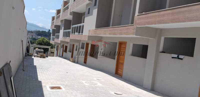 1. - Casa em Condomínio 3 quartos à venda Tanque, Rio de Janeiro - R$ 394.000 - PECN30203 - 1