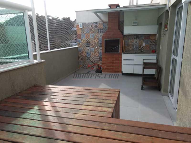 27. - Cobertura 3 quartos à venda Pechincha, Rio de Janeiro - R$ 590.000 - PECO30100 - 1