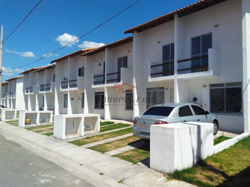 1 - Casa em Condomínio 2 quartos à venda Santa Cruz, Rio de Janeiro - R$ 180.000 - PECN20167 - 1