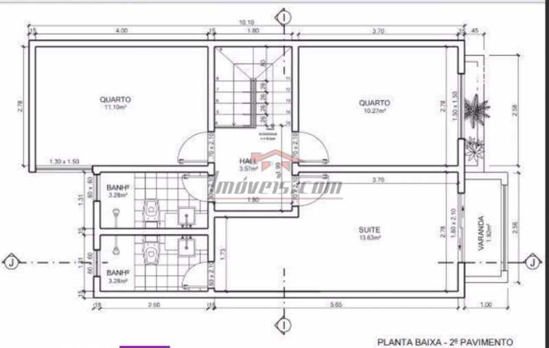 15. - Casa em Condomínio 3 quartos à venda Jacarepaguá, Rio de Janeiro - R$ 600.000 - PECN30213 - 19