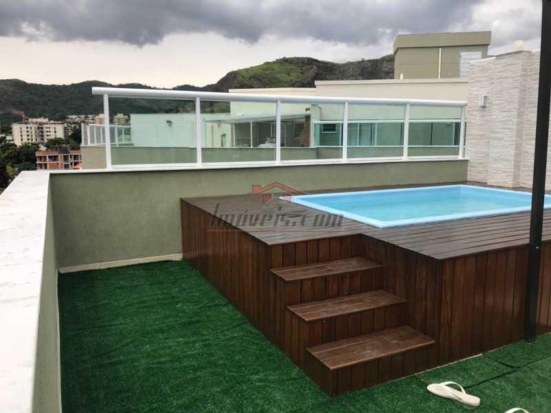 01. - Cobertura 3 quartos à venda Pechincha, Rio de Janeiro - R$ 850.000 - PECO30104 - 1