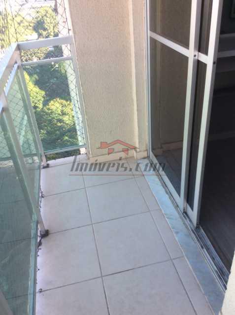 01. - Cobertura 2 quartos à venda Taquara, Rio de Janeiro - R$ 439.900 - PECO20049 - 1