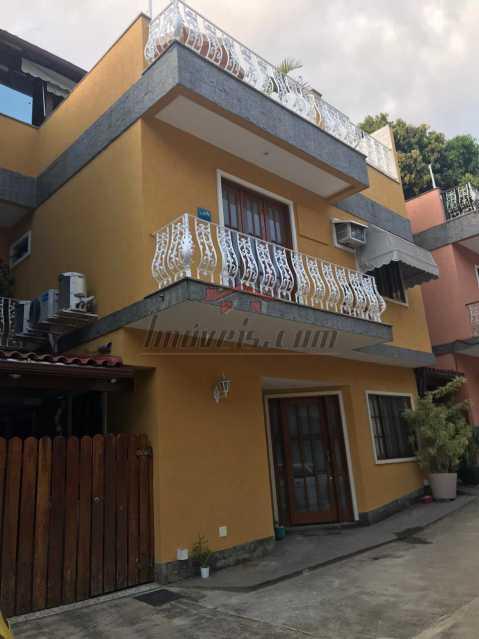 01 - Casa em Condomínio 4 quartos à venda Jacarepaguá, Rio de Janeiro - R$ 820.000 - PECN40091 - 1