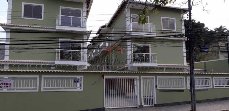 1 - Casa em Condomínio 3 quartos à venda Praça Seca, Rio de Janeiro - R$ 365.000 - PECN30238 - 1