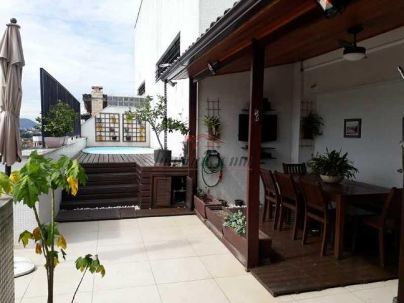 340925036963050 - Cobertura 3 quartos à venda Pechincha, Rio de Janeiro - R$ 540.000 - PECO30114 - 3