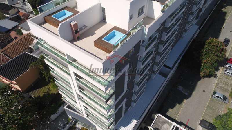 1 - Cobertura 3 quartos à venda Pechincha, Rio de Janeiro - R$ 590.000 - PECO30115 - 1