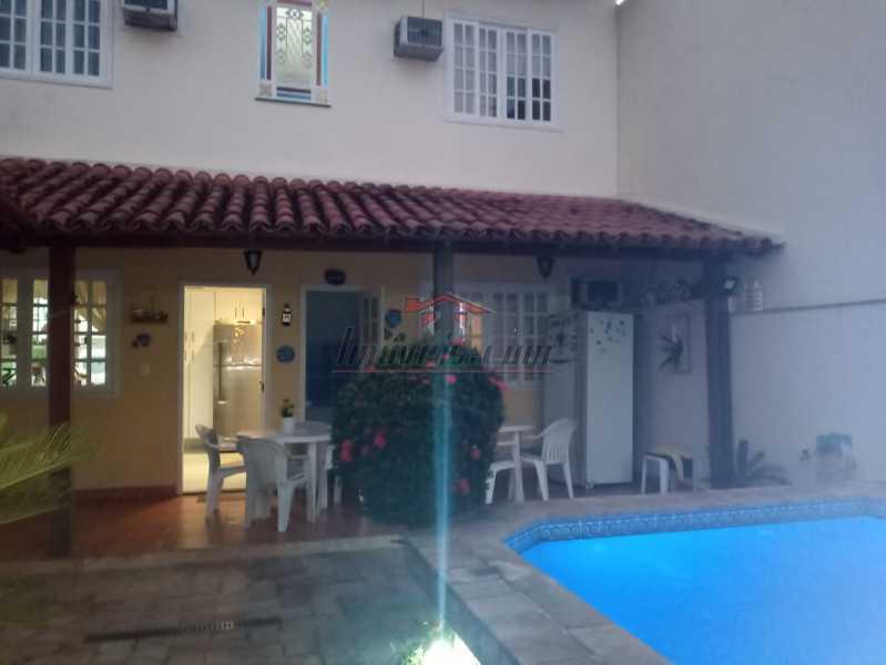 1. - Casa de Vila 3 quartos à venda Taquara, Rio de Janeiro - R$ 700.000 - PECV30043 - 1