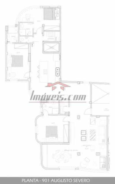 12 - Apartamento 3 quartos à venda Glória, Rio de Janeiro - R$ 959.000 - PEAP30760 - 13