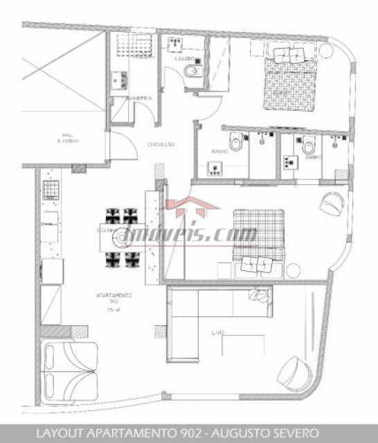 13. - Apartamento 2 quartos à venda Glória, Rio de Janeiro - R$ 789.000 - PEAP21940 - 14