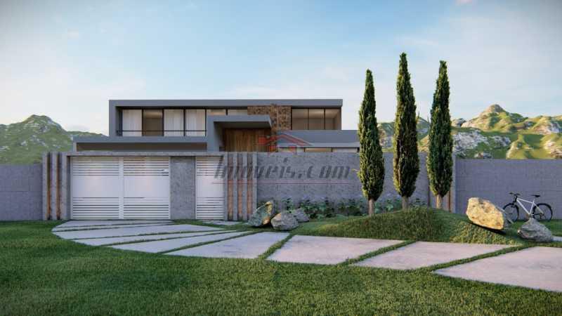1. - Casa em Condomínio 4 quartos à venda Barra da Tijuca, Rio de Janeiro - R$ 5.900.000 - PECN40115 - 1
