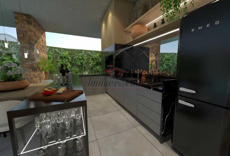 11. - Casa em Condomínio 4 quartos à venda Barra da Tijuca, Rio de Janeiro - R$ 5.900.000 - PECN40115 - 12