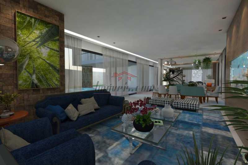 13. - Casa em Condomínio 4 quartos à venda Barra da Tijuca, Rio de Janeiro - R$ 5.900.000 - PECN40115 - 14
