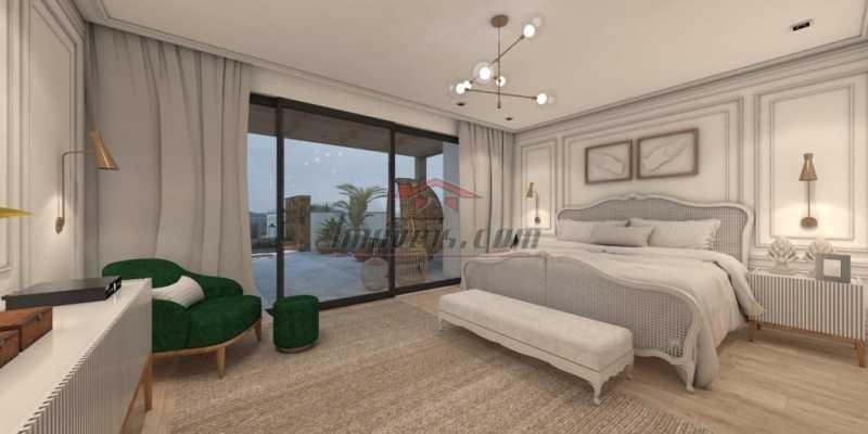 14. - Casa em Condomínio 4 quartos à venda Barra da Tijuca, Rio de Janeiro - R$ 5.900.000 - PECN40115 - 15